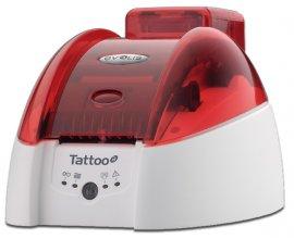 Самый компактный цветной карт-принтер Evolis Tattoo2 для печати пластиковых карт и пропусков